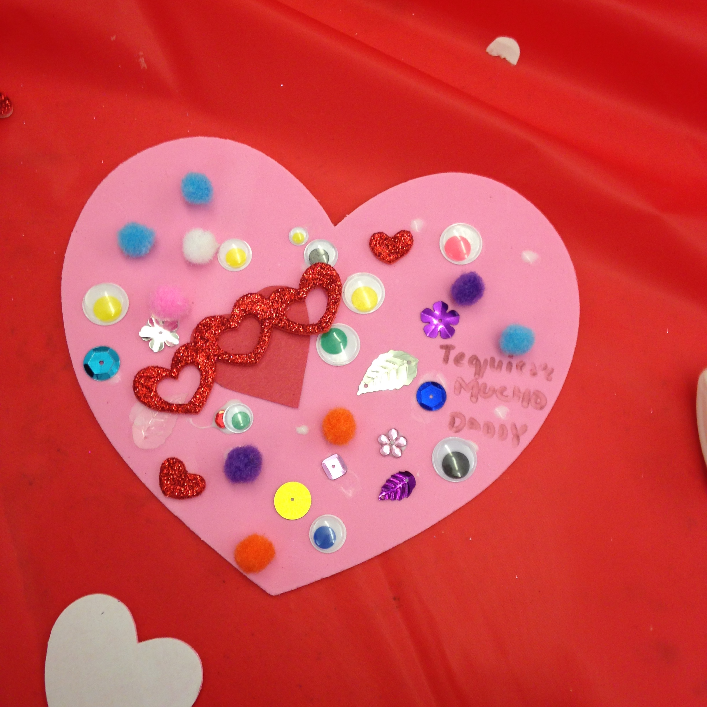The Union City Valentine Card Making Event