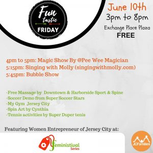 Schedule June 10th Funtastic Friday (2)