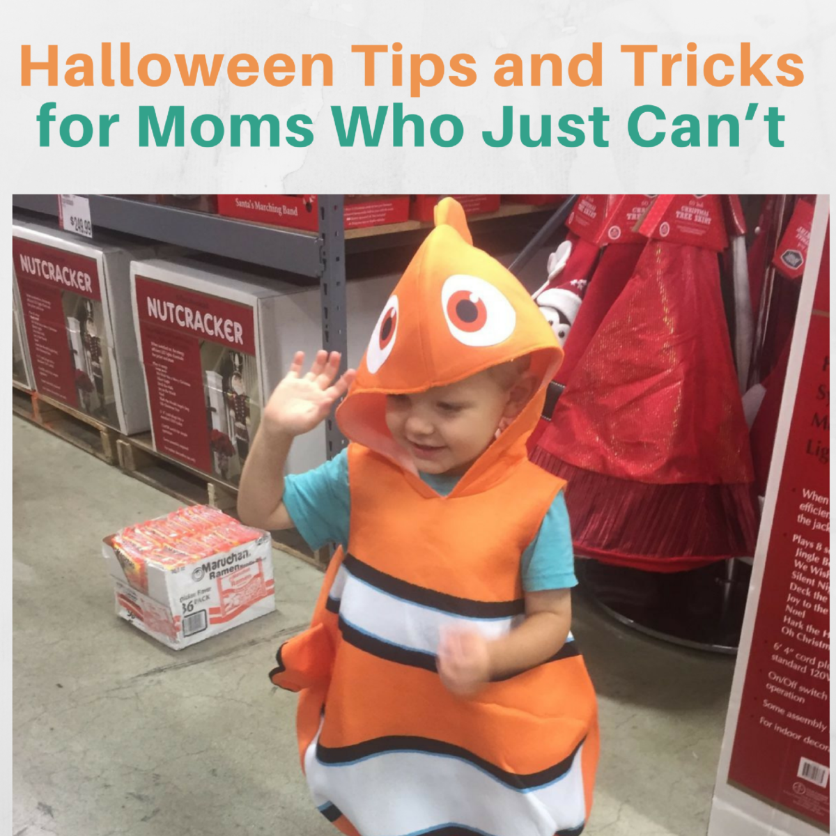 Halloween Tips and Tricks for Moms Who Just Can't