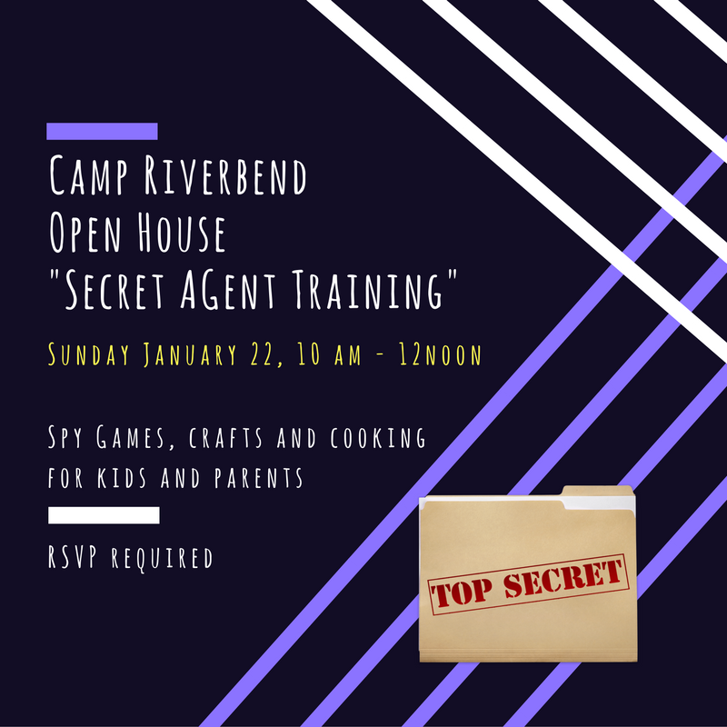 Camp Riverbend Open House, Sunday Jan 22