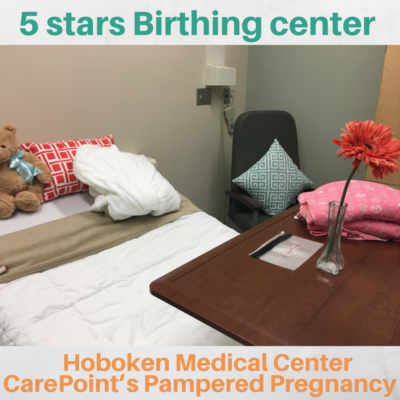 5 stars Birthing Center: Hoboken Medical Center Carepoint's pampered pregnancy