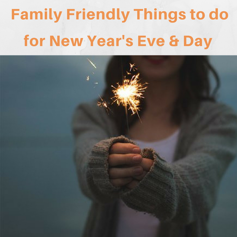 Things to do for New Year's Eve & Day