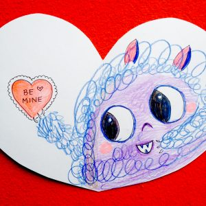 Handmade Valentine Ideas by Lady Lucas for JCFamilies