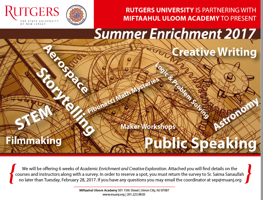 Rutgers for Kids this Summer