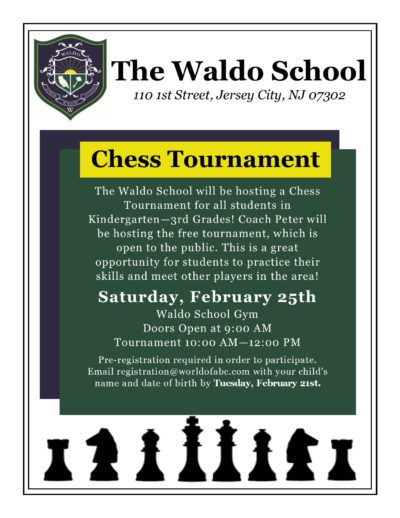 Chess Tournament in Jersey City