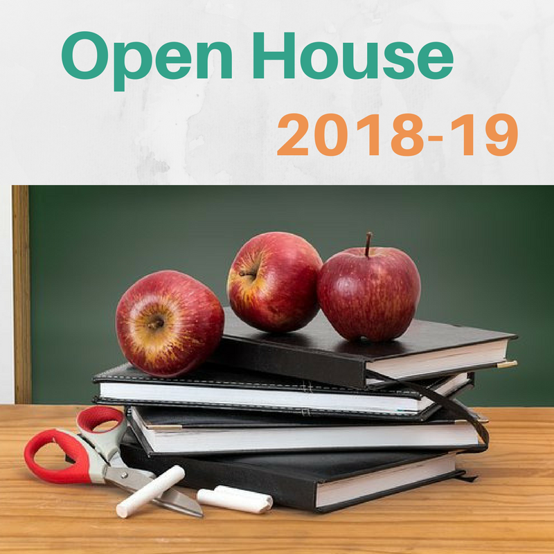Open House 2018-19: Schools Jersey City