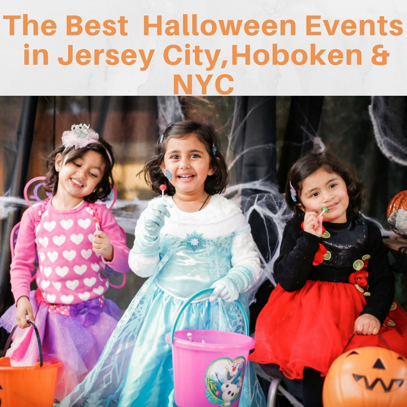 Halloween Events in Jersey City, Hoboken and NYC