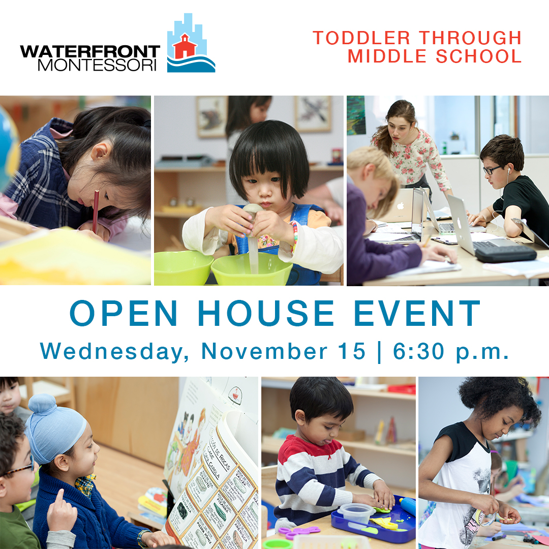 Open House: Waterfront Montessori
