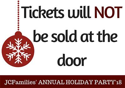 JCFamilies' Annual Holiday Party for Families In Jersey City