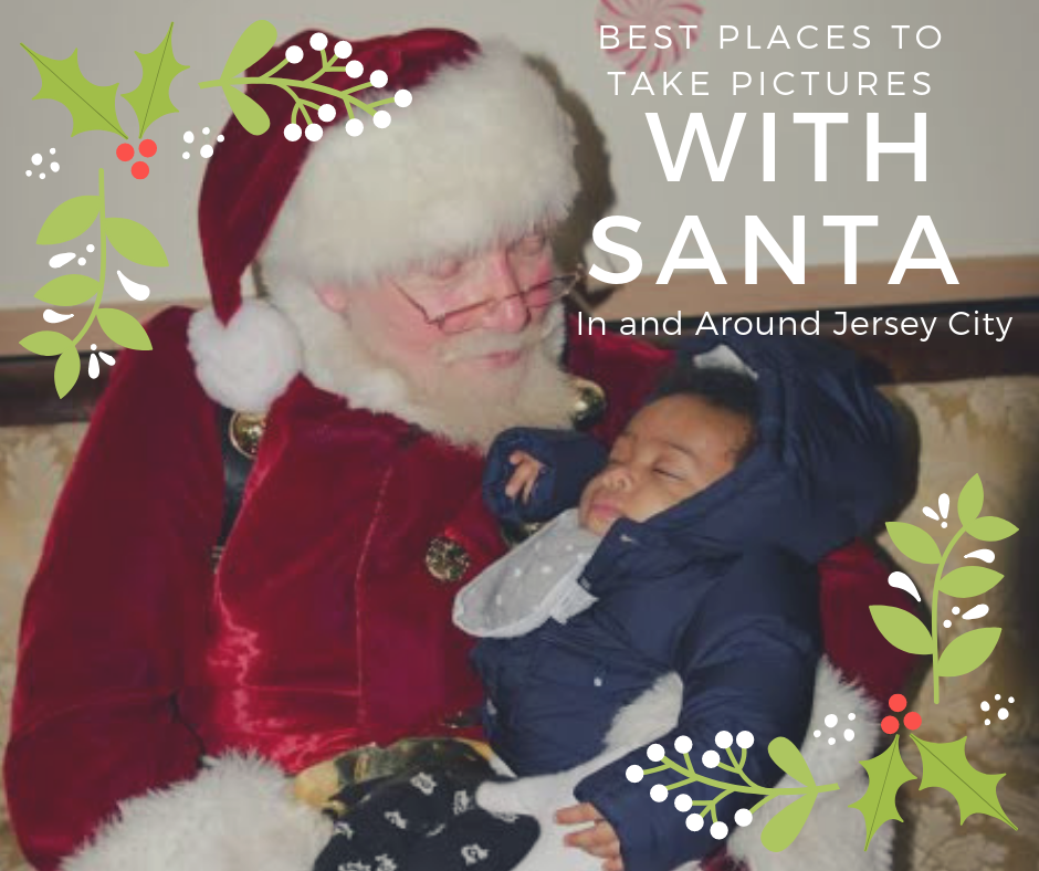 Best Places to Take Pictures with Santa In and Around Jersey City