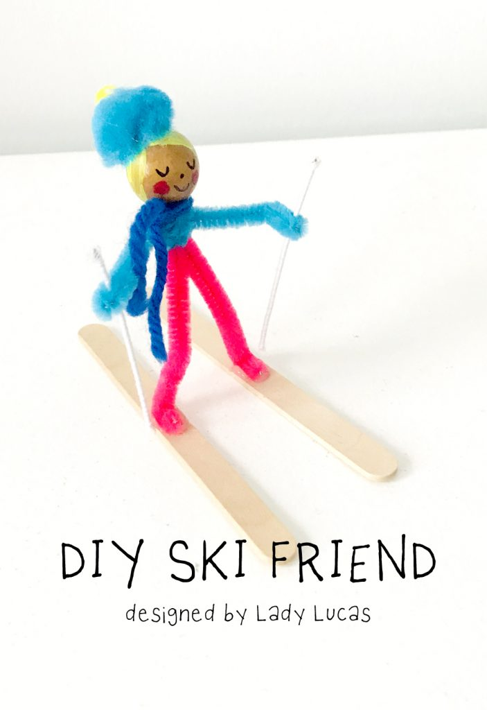 Ski Friend DIY Craft for Kids