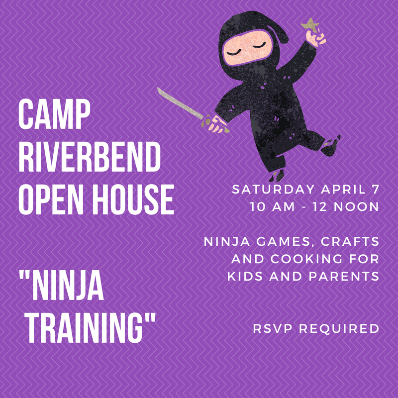 "Camp Riverbend ""Ninja Training"" Open House"