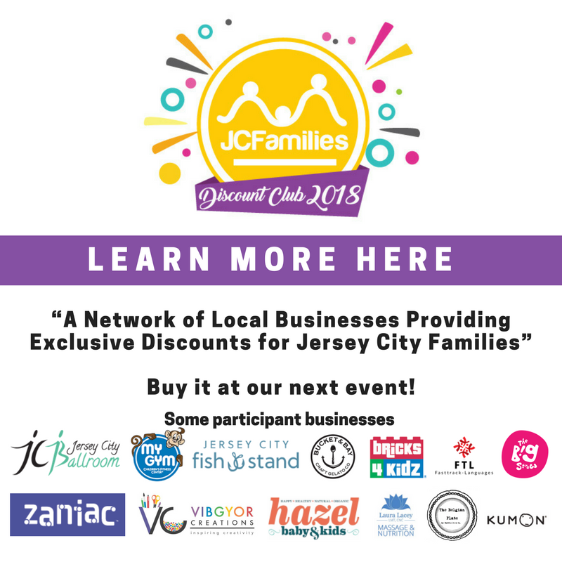 JCFamilies Discount Club 2018 :Deals and discount for families in Jersey City