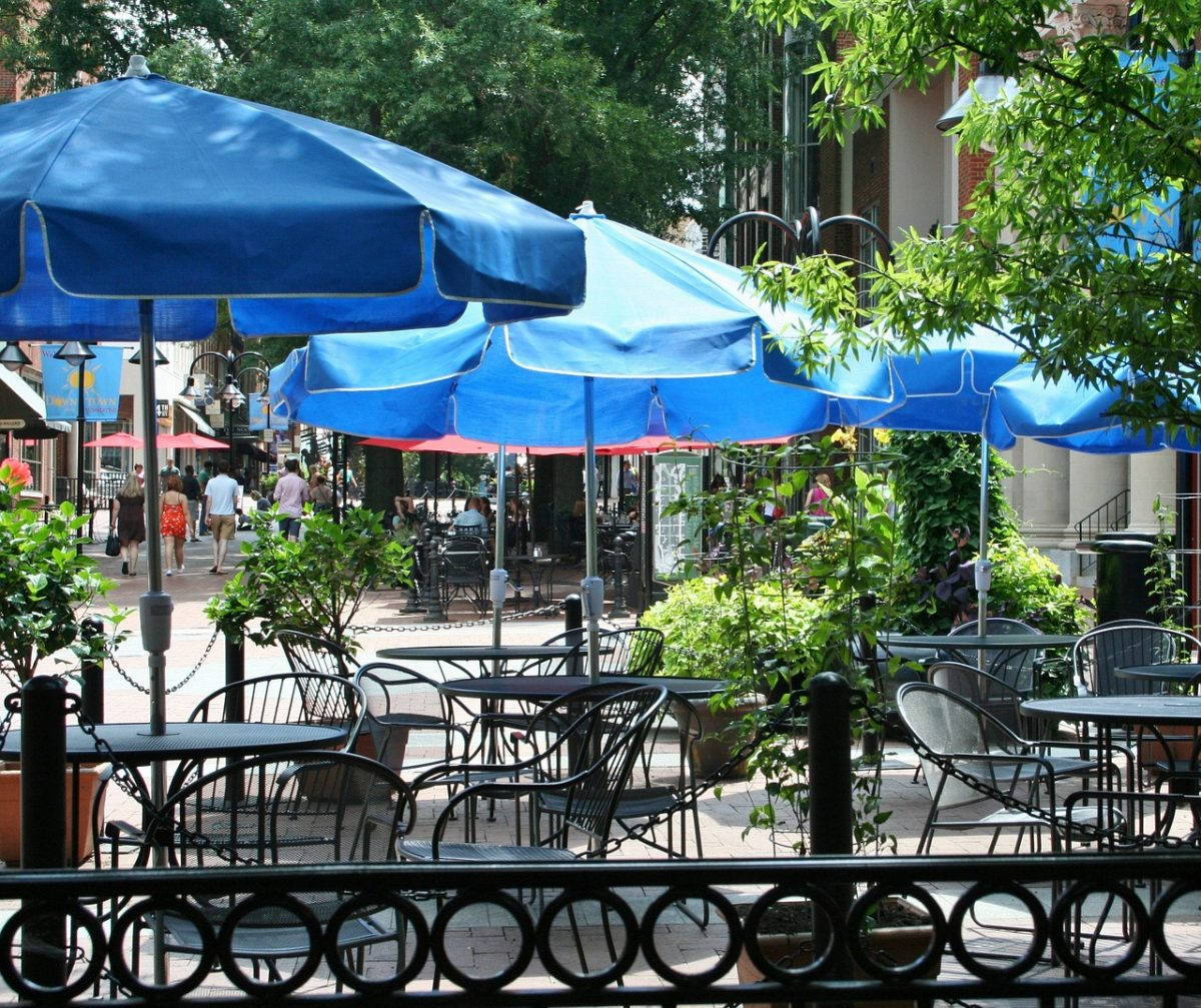 Outdoor dinning Jersey City