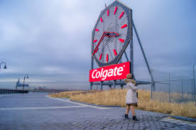 Old colgate clock