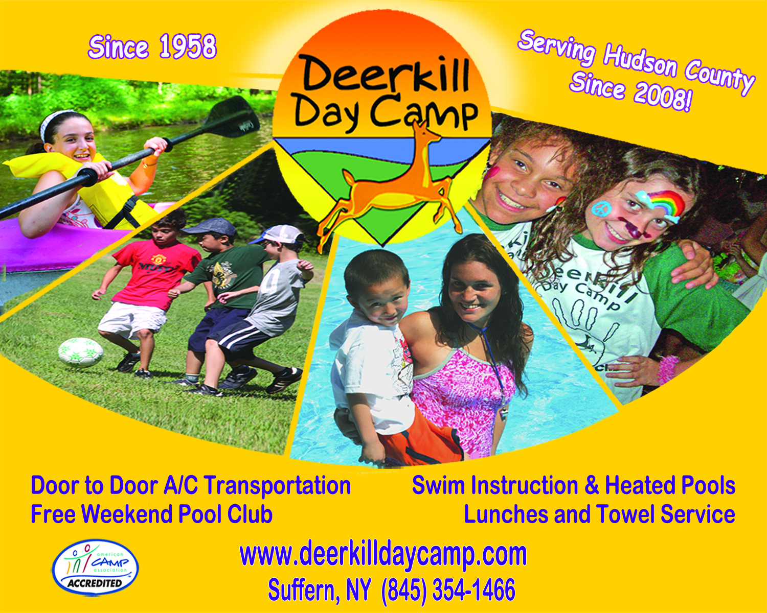 Deerkill is a premier summer day camp for boys and girls