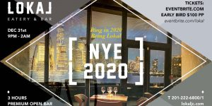 Events Happening in Jersey City and Hoboken on New Years Eve
