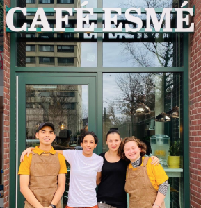 Cafe Esme in Jersey City